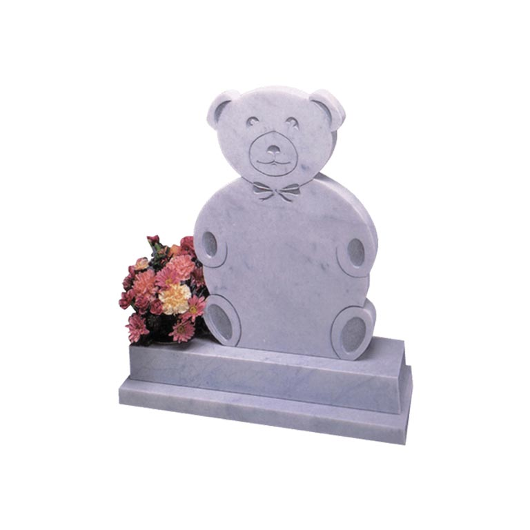 Cremation memorials and vases.